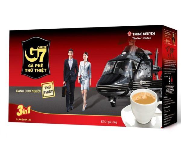 Cafe G7-3in1 Trung Nguyên hộp 21-gói